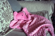 Sew Well - Cotton Ginny's Animal Blanket - Elephant Blanket
