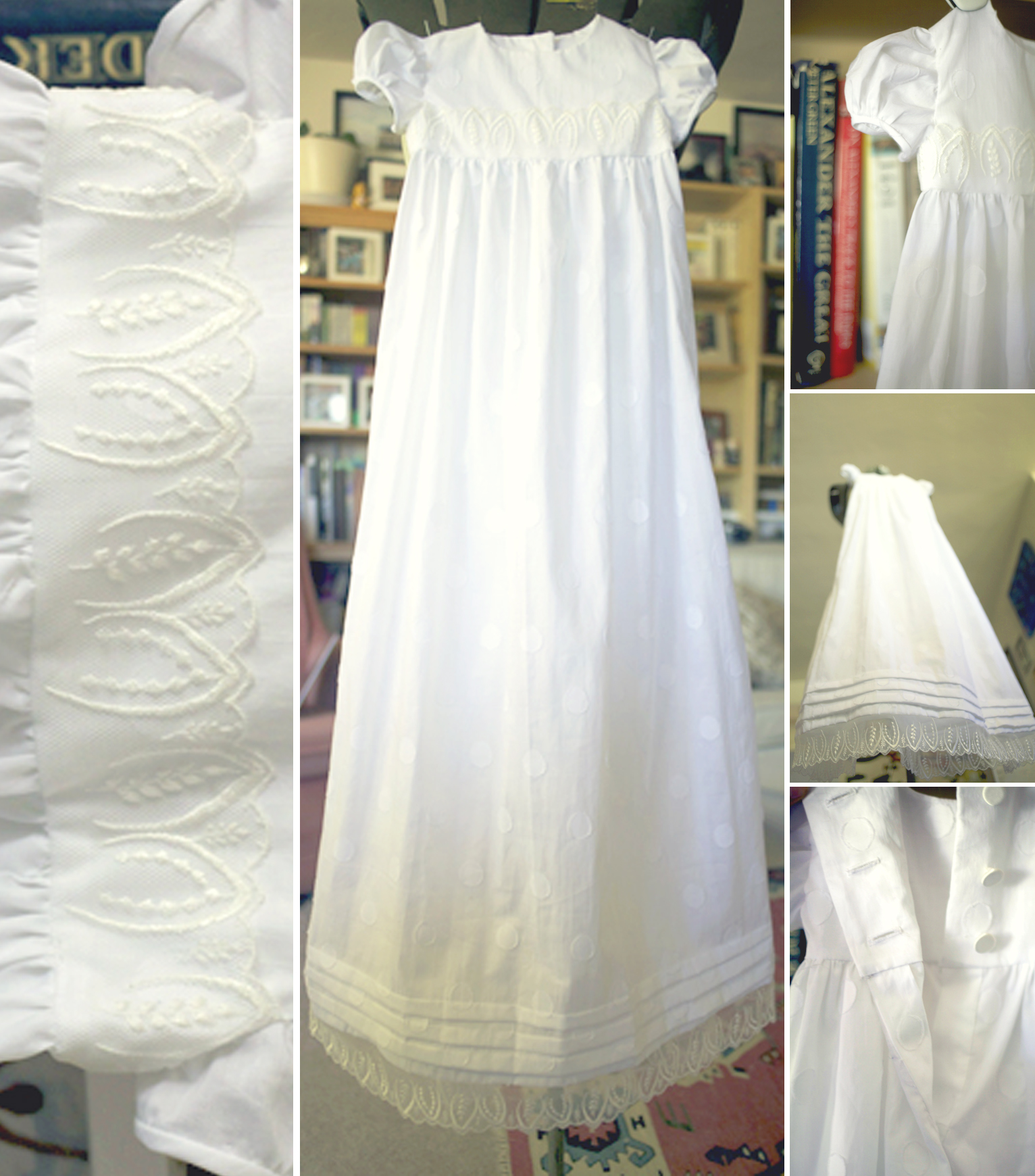 handmade christening gown | eBay - Electronics, Cars, Fashion