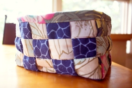 Sew Well - Auntie's Two Biscuit Basket