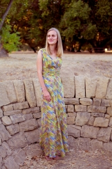 Sew Well - Paint Me a Maxi Dress - Vogue V8182
