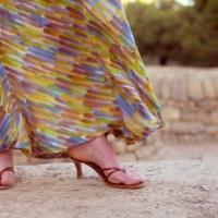 Paint Me a Maxi Dress:  The Reveal