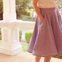 Circle Skirt Sew-Along:  Completed!