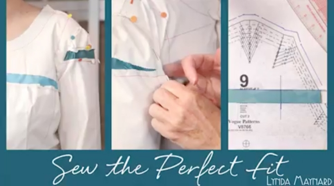 Sew Well - Sew the Perfect Fit class