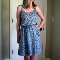 The Summer Dress:  Saltspring in Liberty