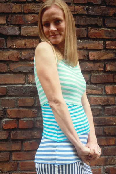 Sew Well - Ombre Shingle Dress