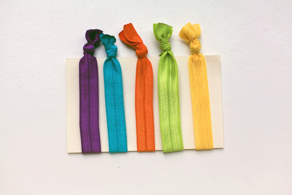No Crease Elastic Hair Ties Sew Well