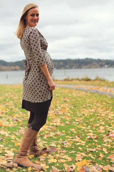 Sew Well's BurdaStyle Twisted Dress in Mood's Silk Jersey