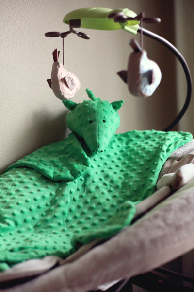 Sew Well - Dragon Baby Blanket