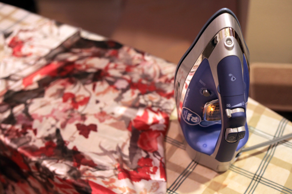 Sew Well - Experiments in Silk:  Durathon Iron Review and Giveaway