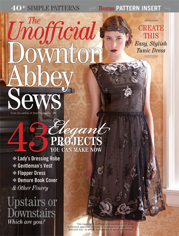 Sew Well - Downton Abbey Sews
