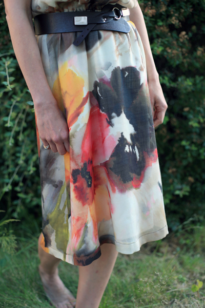 Sew Well - Watercolor Yaletown Dress