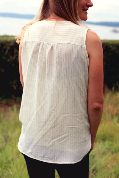 Sew Well - StyleArc Dotty in #MoodFabrics silk crepe de chine
