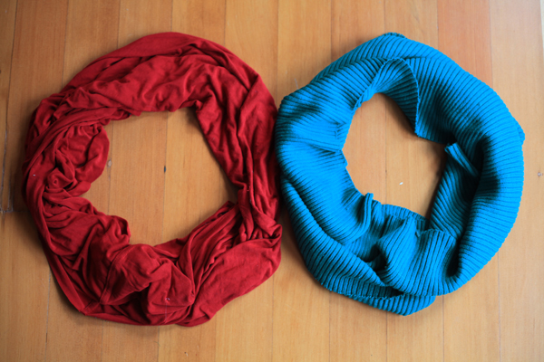 Sew Well - Infinity Scarves