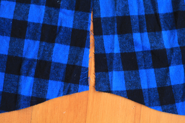 Sew Well - Mismatched plaid