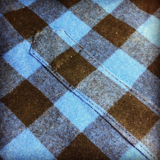 Sew Well - Placket Plaid Matching