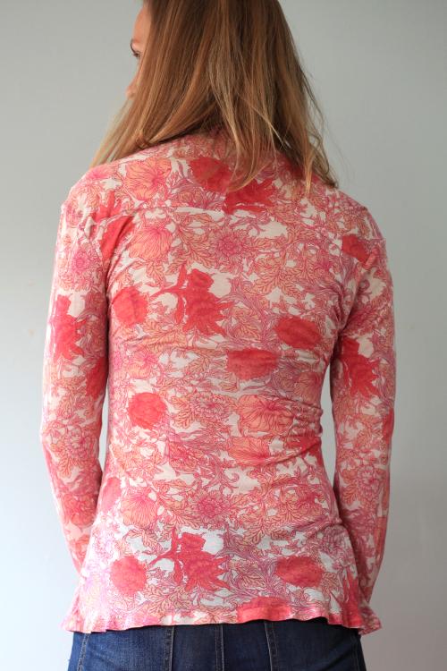 Sew Well - BurdaStyle Wrap Top Refashioned