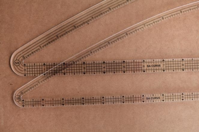Sew Well + SA Curve Ruler