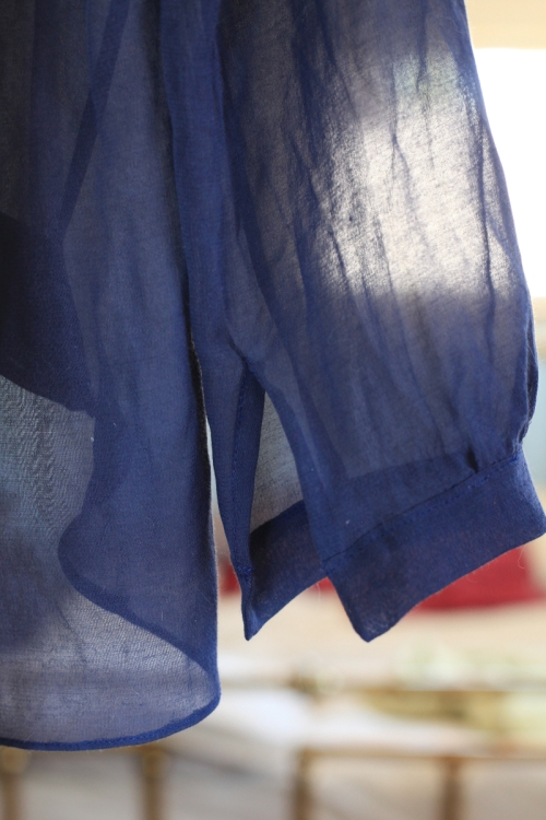 Sew Well:  A Dotless Dotty in Voile