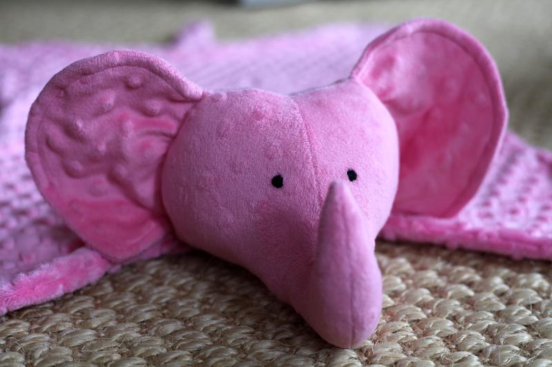 Sew Well: Elephant Baby Blanket