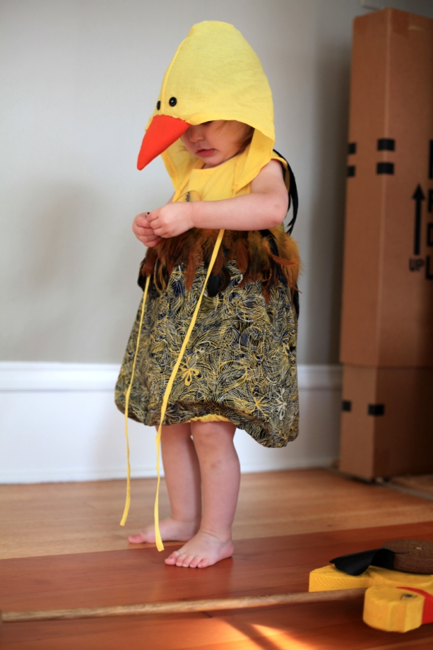 Sew Well - Happy Halloween from a Darling Little Duck