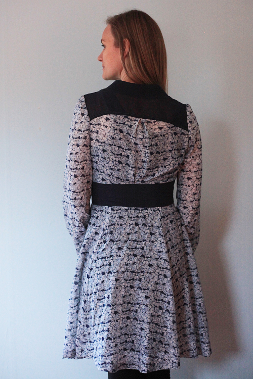 Sew Well: Boundless Style Georgia-Farrah-Meryl in a Liberty print from #MoodFabrics