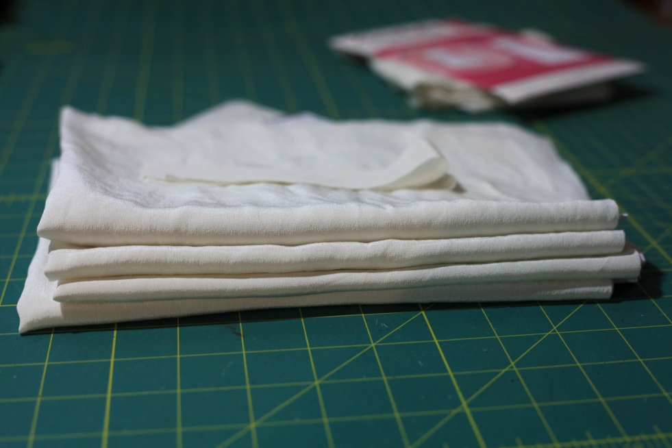 Sew Well - Post-Maternity Project Plans: A White Cami